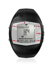 Polar FT40 Heart Rate Monitor Female Black