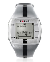 Polar FT4 Heart Rate Monitor Silver