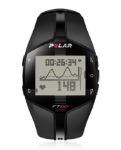 Polar FT80 Heart Rate Monitor with white display